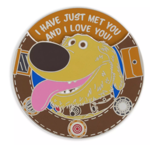 Dug spinning messages pin