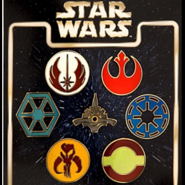 Jedi Symbol pin