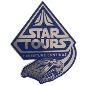 Star Tours - L'adventure continue - Disneyland Paris Attractions pin