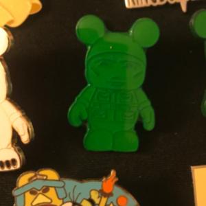Green army men Vinylmation  pin