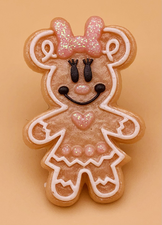 Minnie Gingerbread Pin