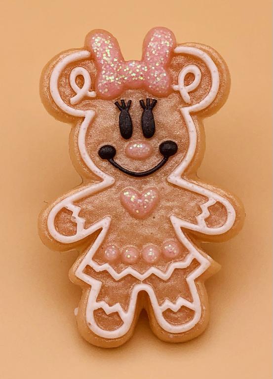 Minnie Gingerbread Pin