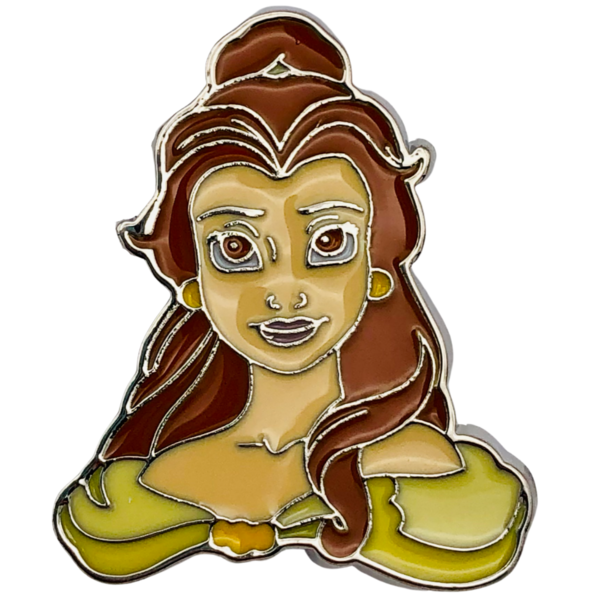Belle - Princess face JCM set  pin