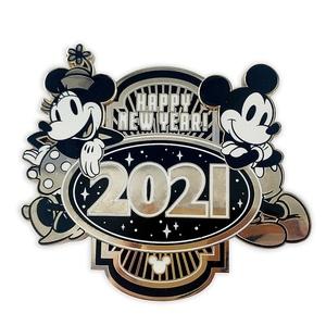 Happy New Year 2021  pin