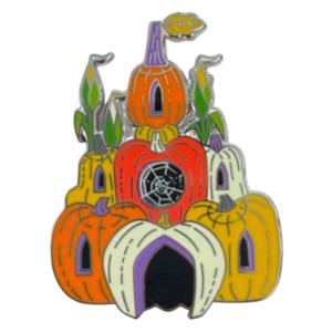 Halloween 2021 - Pumpkin castle pin