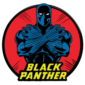 D23 Exclusive Marvel's Black Panther 55th Anniversary Pin pin