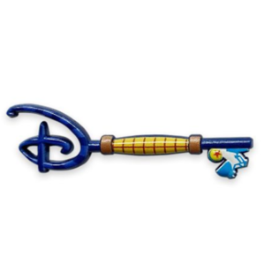 Disney Store Mystery Key - Woody pin