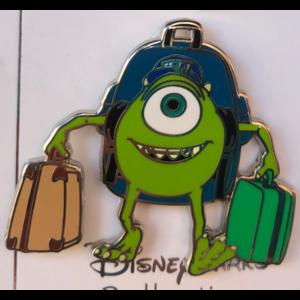 Mike Wazowski going to Monsters U pin