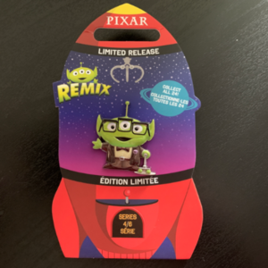 Alien remix Mr Fredricksen pin