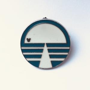 Horizons - Hidden Mickey EPCOT Logos pin