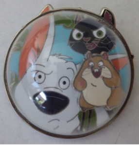 Bolt, Mittens and Rhino - FairyTails Event pin