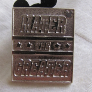 Mater The Greater (Chaser) pin