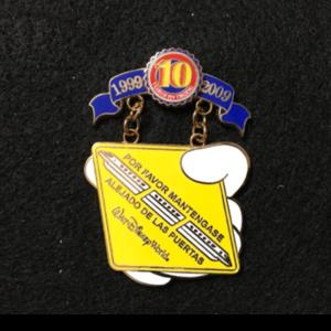 Pin Trading 10th Anniversary Tribute Spanish Monorail  pin