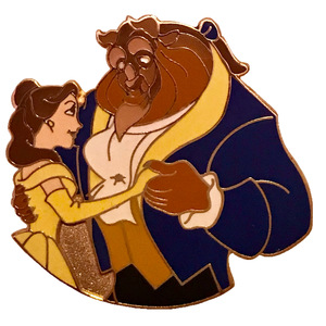 WDCC Great Wide Somewhere Pin Set (4 or 6) - Belle and Beast pin