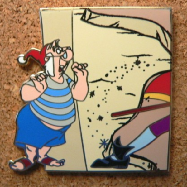 Mr. Smee - Neverland Map Mystery Set pin