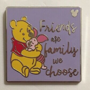 Friends are Family - Hidden Mickey pin