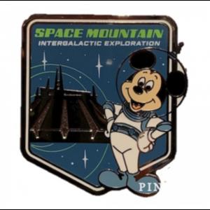 Space Mountain Intergalactic Exploration pin