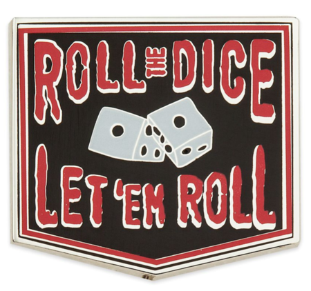 Roll the dice pin
