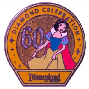 DLR - 60th Diamond Celebration - Disney Girls Mystery Pack - Snow White pin