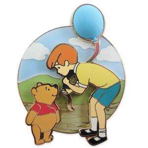 Winnie and Christoper talking - 55th anniversary pin