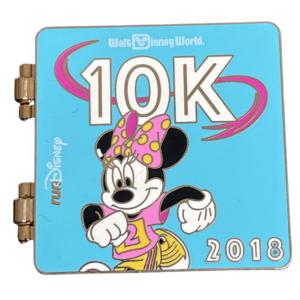 WDW Run Disney 10k - Minnie - 2018 pin