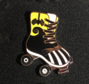 Jack Skellington - Magical Mystery Roller Skate pin