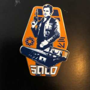 Han Solo  pin