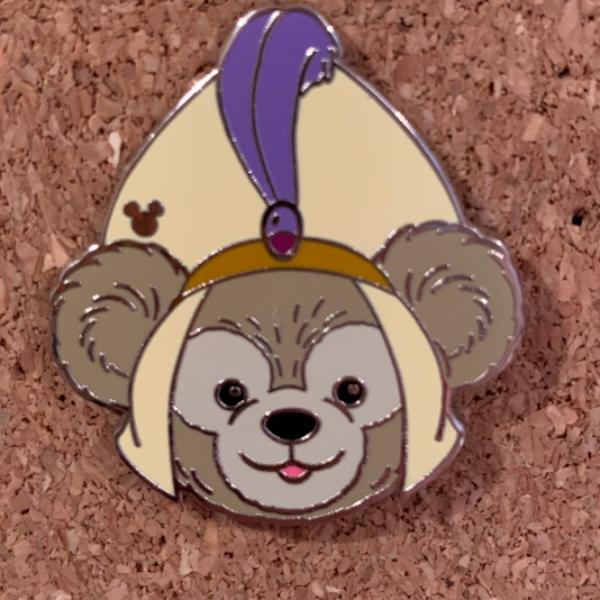 Duffy Hats - 2013 Hidden Mickey Series - Aladdin pin