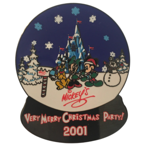 Mickey's Very Merry Christmas Party 2001 pin