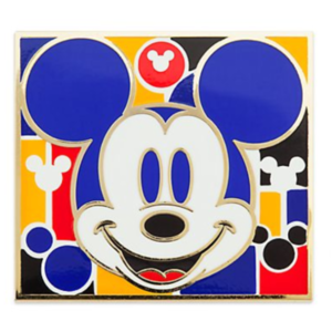 Mickey smiling 1930s pin