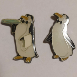Penguins - Mary Poppins - Loungefly pin