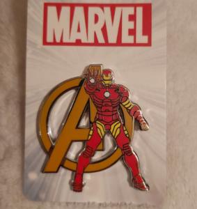 Iron Man Avengers Logo Pose pin