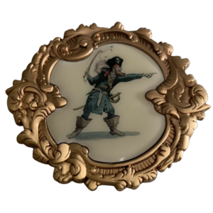 WDI Pirates Of The Caribbean Marc Davis Concept Auctioneer LE 250 pin
