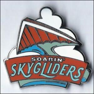 Disney World Mascots: Soarin' Skygliders  pin