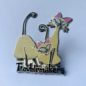 Si and Am Troublemakers pin