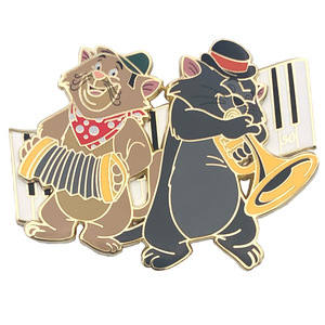 Scat Cat and Italian Cat - Aristocats 50th Anniversary - DSSH pin