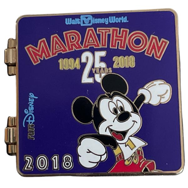 broche Marathon WDW 25 years 2018 runDisney