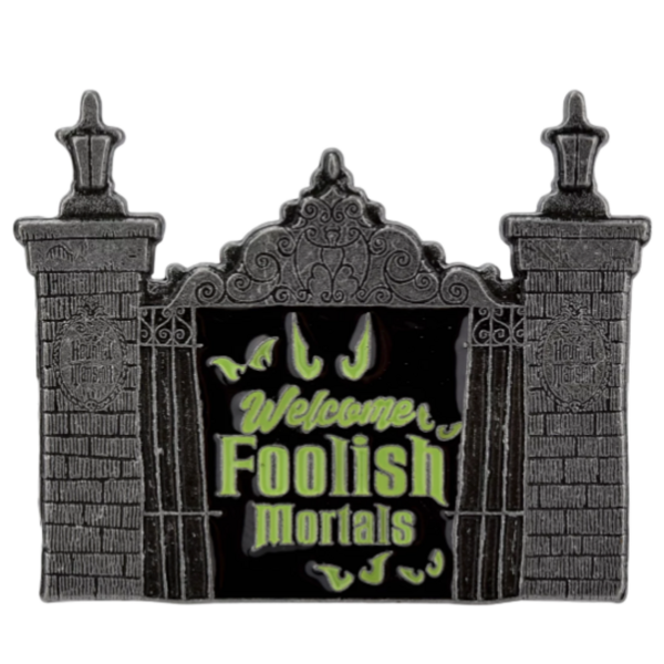 Haunted Mansion Front Gate - Boxlunch pin