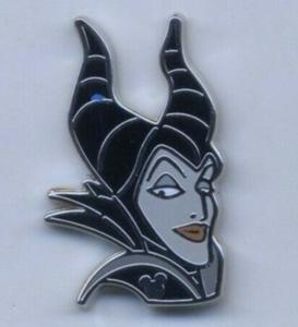 Maleficent - Hidden Mickey pin