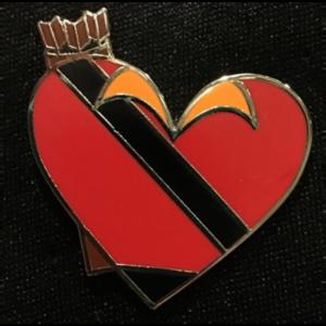 Gaston - Be My Villaintines pin