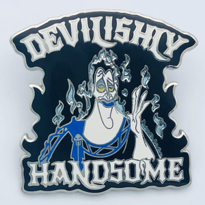 Devilishly Handsome Hades pin