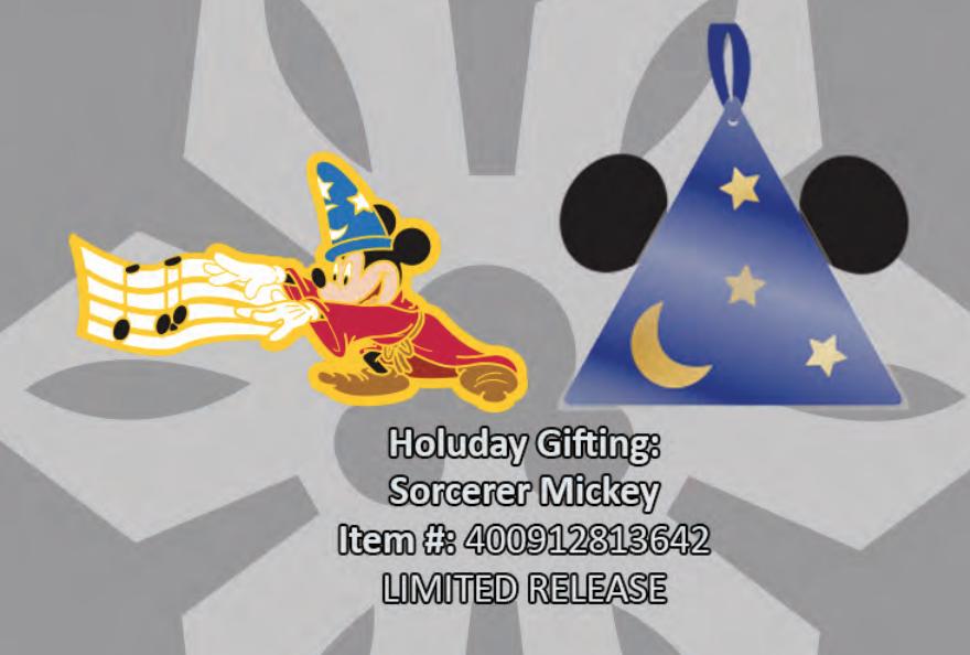 Sorcerer Mickey pin