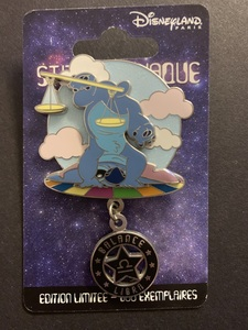 Stitch Zodiac Libra pin