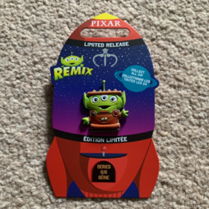 Alien Remix Mator pin