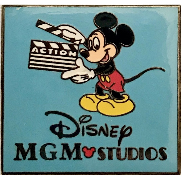 "WDW - Disney • MGM Studios – Mickey with ""Action"" Clapboard pin"