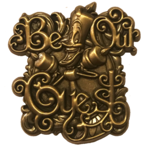 Disney Store Cast Exclusive - Be Our Guest (2019) pin
