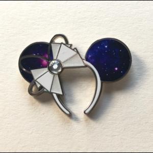 Minnie Ears Space Mountain pin
