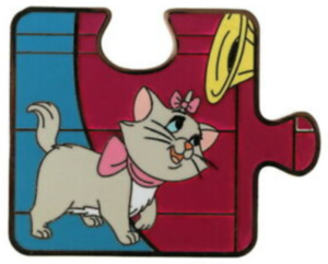 Marie  - Aristocats Puzzle pin