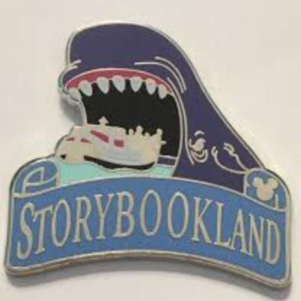 Storybook Land - Hidden Mickey Attractions pin