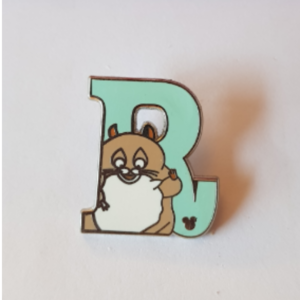 Rhyno Alphabet pin